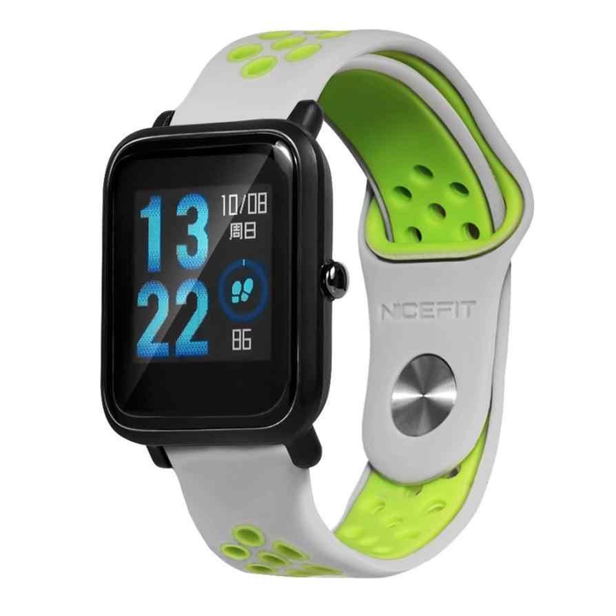 2018 nouveau bracelet de montre intelligent ventilé léger pour Huami Amazfit Bip montre de jeunesse