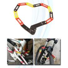 New Style Mini Steel Portable Password Fordable Bicycle Lock Mountain Bike Road Durable Waterproof Accessories