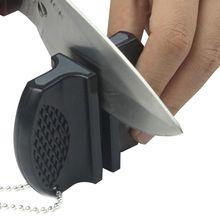 1PCS 휴대용 주방 나이프 숫돌 주방 스톤 나이프 가정용 나이프 숫돌 도구