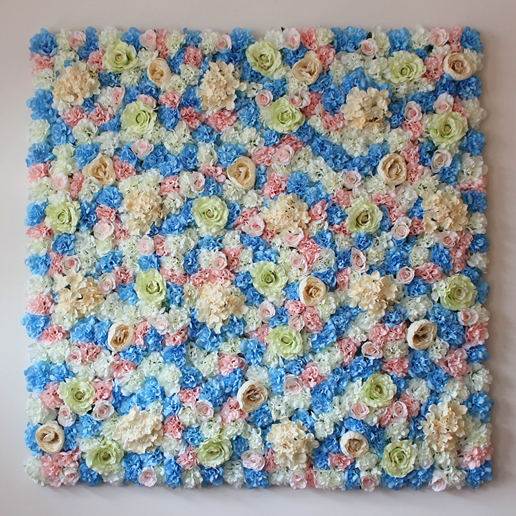 ᑐ40 Cm 60 Cm Colore Fleur Artificielle Mur De Decoration De