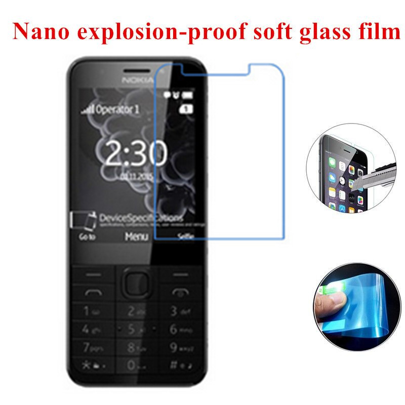 New Nano Explosion-proof Tempered Screen Protector film for <font><b>Nokia</b></font> <font><b>230</b></font> (Soft Glass) image