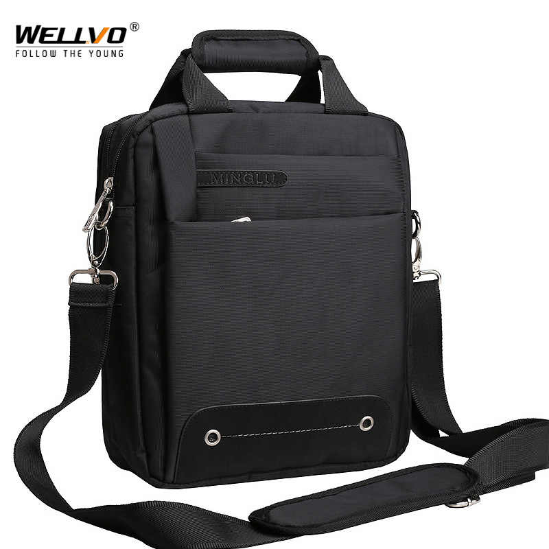 Men Bag 2019 Fashion Mens Shoulder Bags High Quality Oxford Casual Belt Messenger Bag Business Men's Zipper Travel Bags XA157ZC