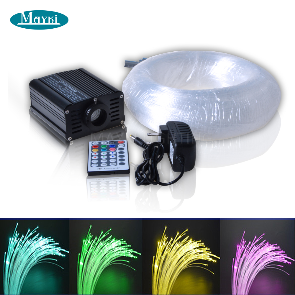 Maykit Embouts Kit Fibre Optique For Starry Sky Ceiling With Fiber Optic Illuminator And Polymer Fiber Optic Tails ray tricker optoelectronics and fiber optic technology