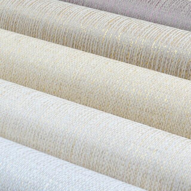 Moderne Plaine Lin Texture Papier Peint Faux Grasscloth Mur Papier ...