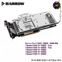 Barrow LRC RGB V1 V2 Full Cover Graphics Card Water Cooling Block BS CON1060 PA For