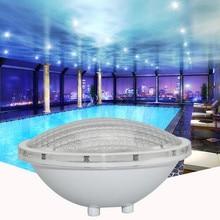 Par56 Underwater Lights 25W LED Swimming Pool Light Resin Filled Piscina Wall Mounted FocoPool Lamp IP68 12V Waterproof Light цена и фото