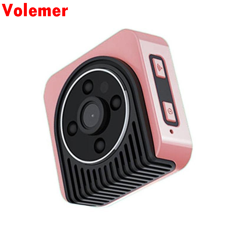 Volemer Mini Camera Wifi IP Wireless HD 1080P Infrared Micro camcorders IR Night Vision Portable Recorder Magnetic Motion cam