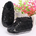 Baby Girls Shoes Soft Soled Walking Shoes Infants Rose Flower Prewalker 0-12 M