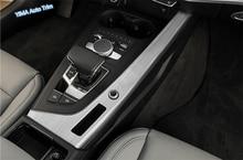 Lapetus Car Styling Stalls Gear Shift Box Cover Trim Fit For Audi A4 B9 A5 Sedan / Avant Allroad Quattro 2016 - 2019 Matte