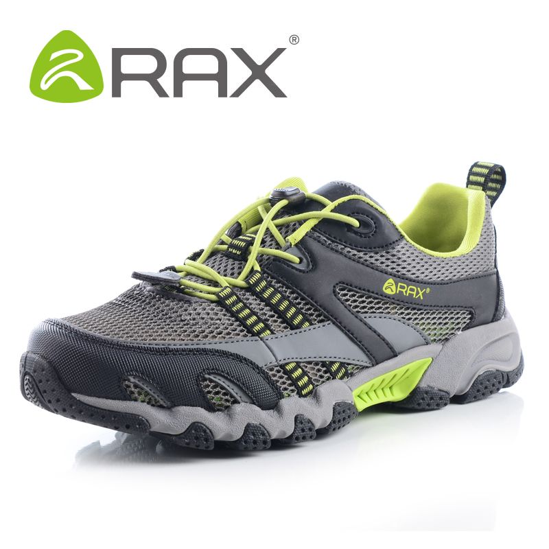 ea20fdd8865 RAX Quick-Drying Men Breathable Outdoor Hiking Shoes Lightweight Aqua Water  Trekking Shoes Outdoor Sports Shoes HS07