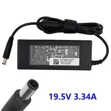 65W Laptop adaptörü AC şarj güç kaynağı için Dell Chromebook 11 3180 3189 Dell Inspiron Latitude Vostro XPS M1210 19.5V 3.34A