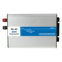 800w pure sine wave inverter 12V/24V/48V to 110V/220V tronic power inverter circuits off grid tie inverter cheap 12 24 48 V volt
