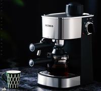 가정용 자동 커피 메이커 5bar 카푸치노 에스프레소 카페 머신 오피스 홈 220-230-240v 240ml petrus stainless steel