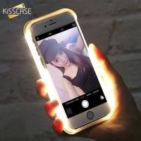 FLOVEME Fashion Selfie LED Flash Light Case For IPhone 6S 7S Plus 5 5S Anti Skid