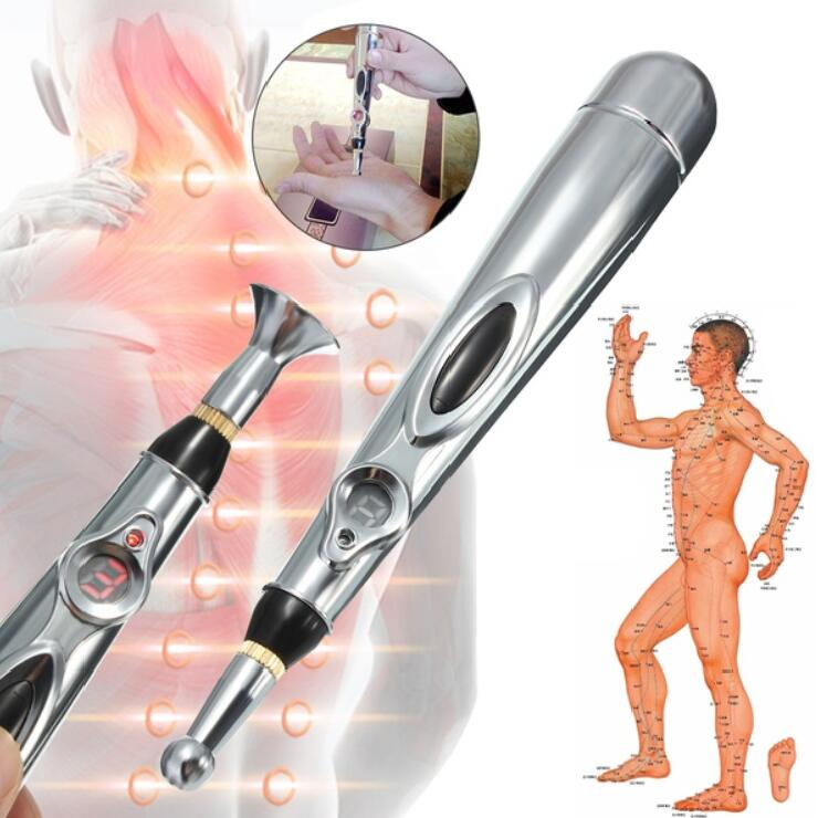 3pcs Acupuncture Health Pen Meridian Body Massage Pain Relief Therapy Electronic Fragrant Aroma Health & Beauty Acupuncture
