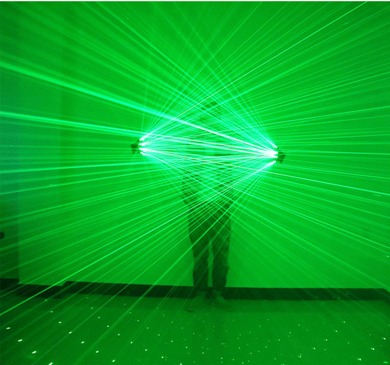 LED Laser Gloves Four Head Light Red Green Fluorescent Dancing Show Stage Props Beam Performance Play For Bar Party HalloweenLED Laser Gloves Four Head Light Red Green Fluorescent Dancing Show Stage Props Beam Performance Play For Bar Party Halloween