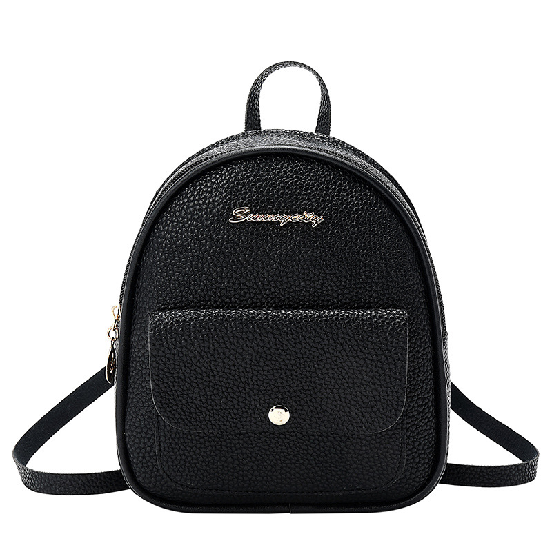 Women's Bags Women Backpack Casual Leather Designer Transparent Backpack Schoolbag For Teenagers Girls Bags For Women 2019