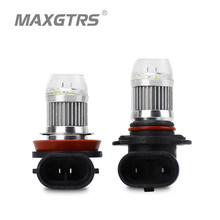 2pcs 1200Lm H11 H8 LED Car Lights LED Bulbs 9005 HB3 9006 HB4 White Daytime Running Lights DRL Fog Light 6000K 12V Driving Lamp(China)