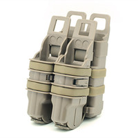 Best Quality EMERSON Airsoft Tactical Molle Magazine Pouch Fast Mag Pistol Magazine Pouch Black BD6344 Free
