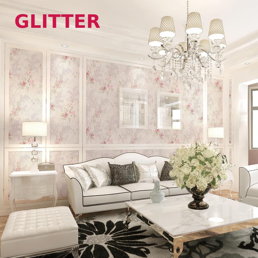 Italienische Ländlichen Stil 3d Geprägte Tapete Klassische Wohnzimmer  Vintage Blumentapete Rosa Blume Mädchen Zimmer Tapetenbahn In Italienische  Ländlichen ...