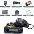 NEW walkie talkie ZASTONE MP600 mobile raido VHF 136-174MHz 65W transceiver MP-600