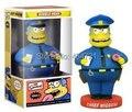 """7 """" Funko Idoit полиция главный Wiggum от симпсоны колебание фигура игрушки"""