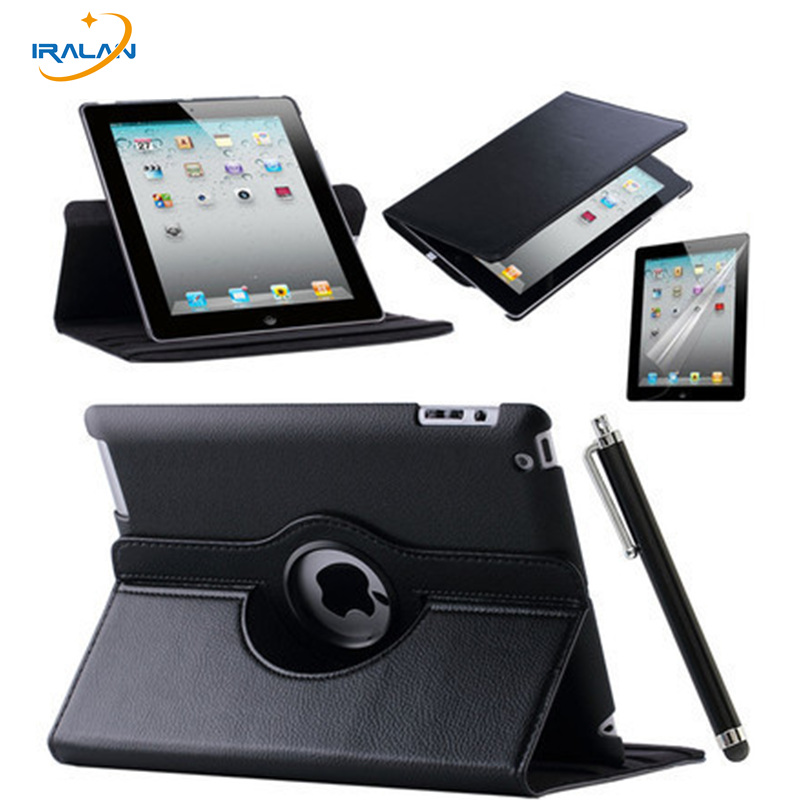 360 Rotating Stand Flip PU Leather Case For Apple iPad Mini 1 2 3 tablet Protective Cover For iPad Mini 123 7.9 inch shell+pen nice soft silicone back magnetic smart pu leather case for apple 2017 ipad air 1 cover new slim thin flip tpu protective case