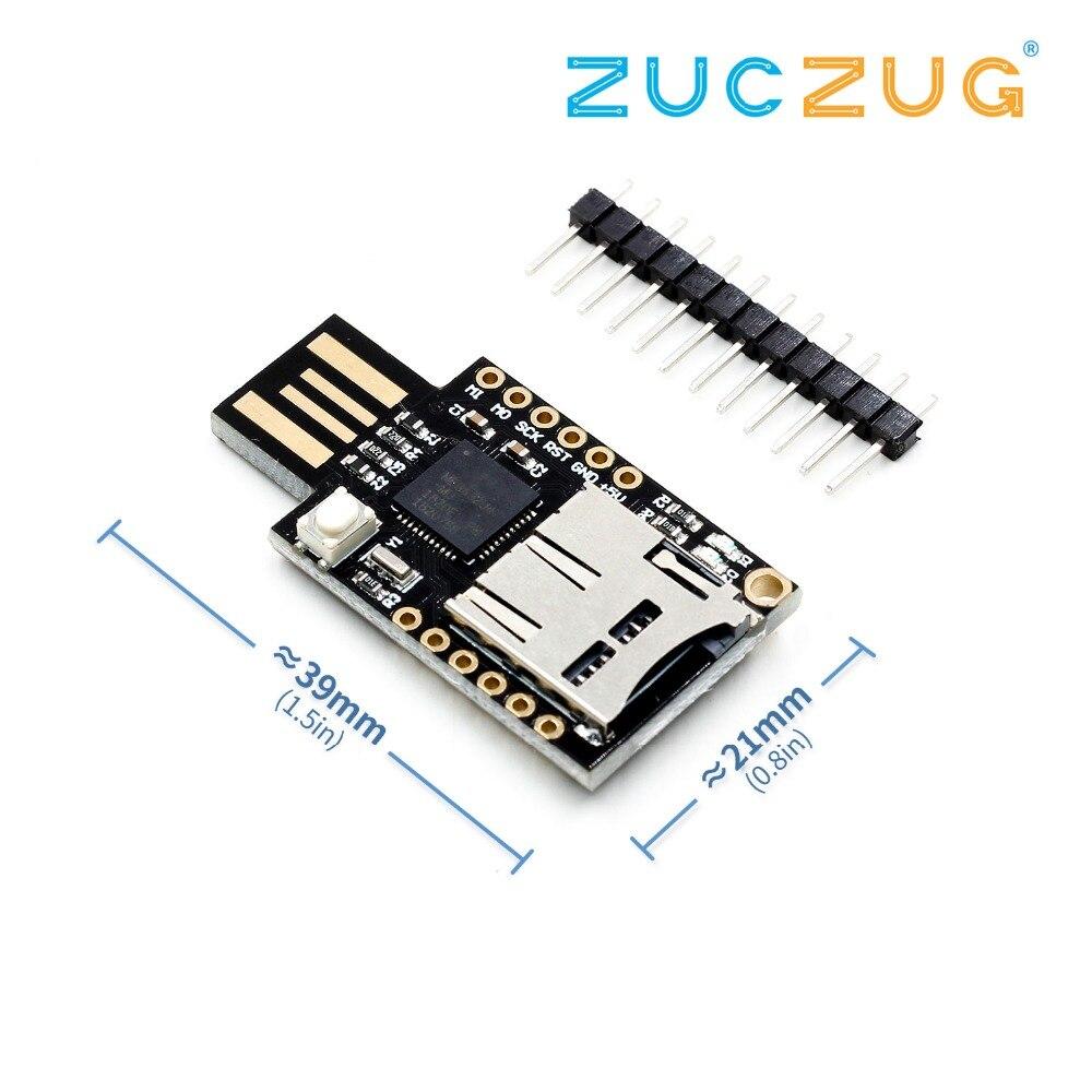 TF MicroSD Micro SD Card Slot Badusb USB Virtual Keyboard ATMEGA32U4 Module For Arduino Leonardo R3 Bad Usb CJMCU
