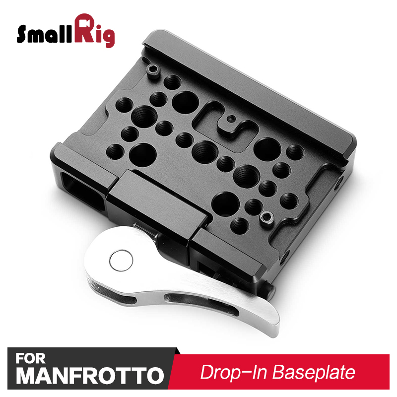 SmallRig Camera Plate Quick Release Drop-In Baseplate (Manfrotto 501PL QR Plate Compatible) for Red Camera Camcorder 2006 цена