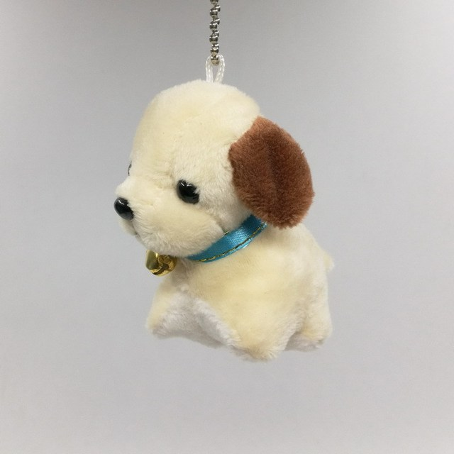7CM Cute Simulation Puppy Kids Dolls Curly Plush Teddy Dog Stuffed Pet Soft Anime Toys For Children Decor Collection keychain