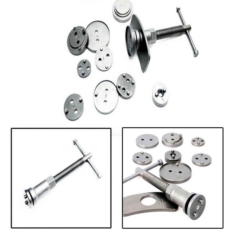 12 pièces étrier de frein Piston plaquette voiture rembobinage retour Auto réparation outil Kit plaquette de frein outil de remplacement