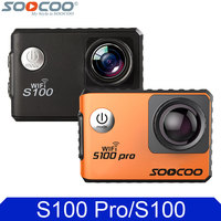 SOOCOO S100 Series S100pro Sport Video Recorder 4K 24fps 2K 30fps Wifi Gyro Ultra HD S100