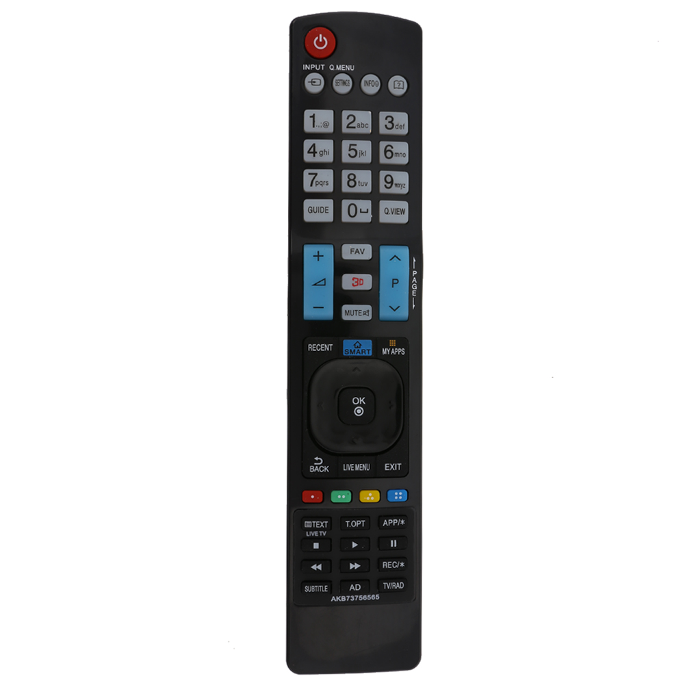 Universal High Quality TV Remote Control Replacement Television Remote Control Unit For 3D SMART APPS TV for LG AKB73756565 TV for lg akb73715601 akb73975728 akb73715603 replacement new tv remote control fit led lcd tv remote