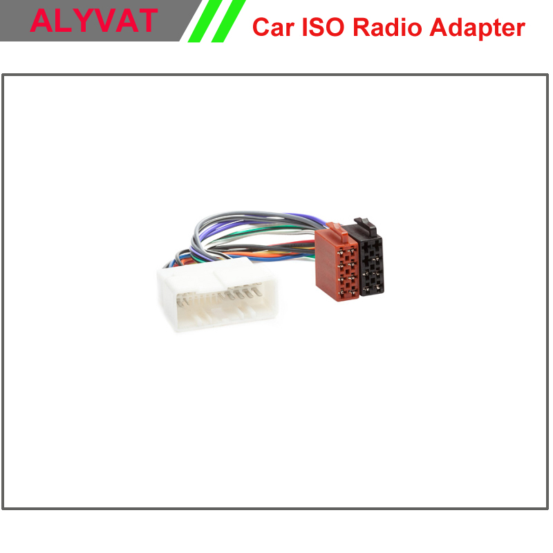 popular kia wiring harness buy cheap kia wiring harness lots from car iso stereo adapter connector for hyundai 2005 kia 2005 wiring harness auto radio
