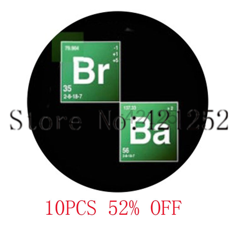 Breaking bad Breaking bad scrabble tiles BR BA Heisenberg Glass Photo Cabochon Necklace  ...