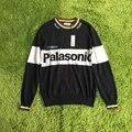 Nueva colección Palasonic otoño invierno marca suéter mujeres hombres hip hop palacio Palacio Palacio de mezcla de lana suéteres jersey