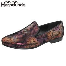 Harpelunde/Мужские модельные свадебные туфли; Кожаные туфли