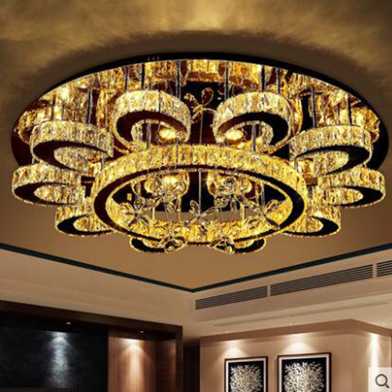 Restaurant crystal chandelier modern simple dining room three chandelier personality creative living room lamp atmospheric lamps цена