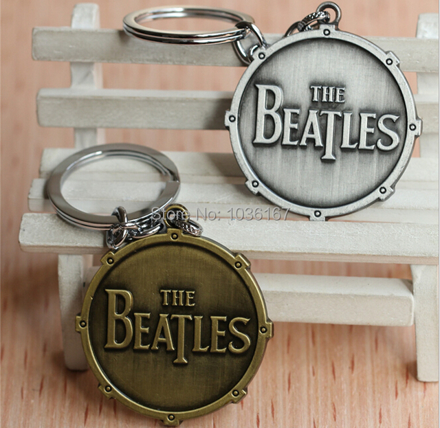 Rock Band The Beatles Keychains Key Chain Silver/Bronze Alloy Metal Key Chains Movie Jewelry 10pcs/lot
