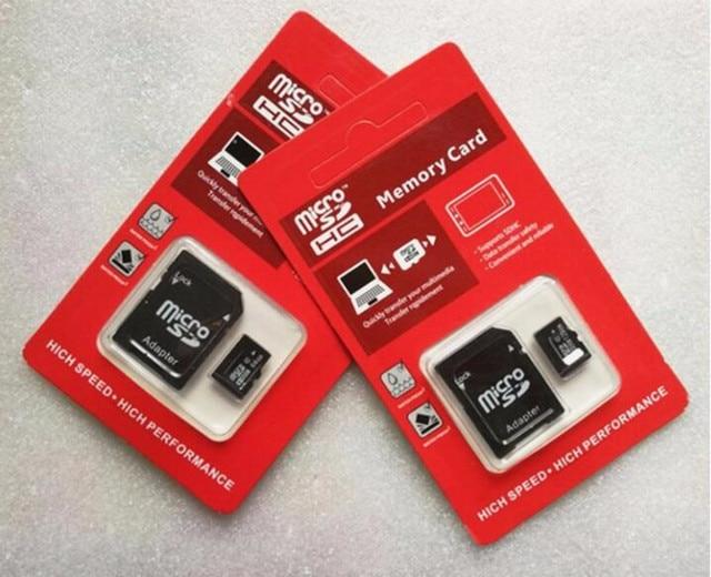 2017 100% Original Micro SD crad 64GB UHS-1 Micro SD SDHC C10 80MB/S TF 64GB 32GB 128GB Memory Card +USB Reader free shipping