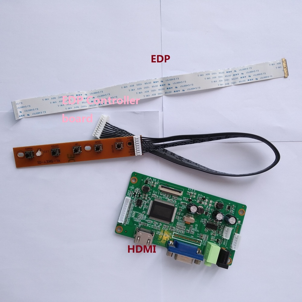 for N156BGE-E32 SCREEN display LCD DIY 30Pin KIT VGA Controller board EDP HDMI monitor DRIVER LED EDP 15.6