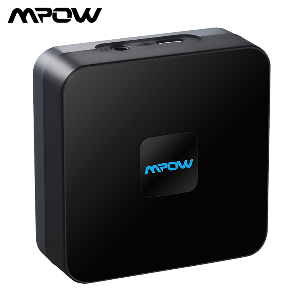 Mpow 070A Wireless Bluetooth 4.1 Audio Receiver Adapter 3.5mm RCA Cable with High-fidelity Stereo Sound and Built-in battery enceinte altavoz bluetooth receiver hifi stereo 4 ohm with line in and built in battery in 5 colors