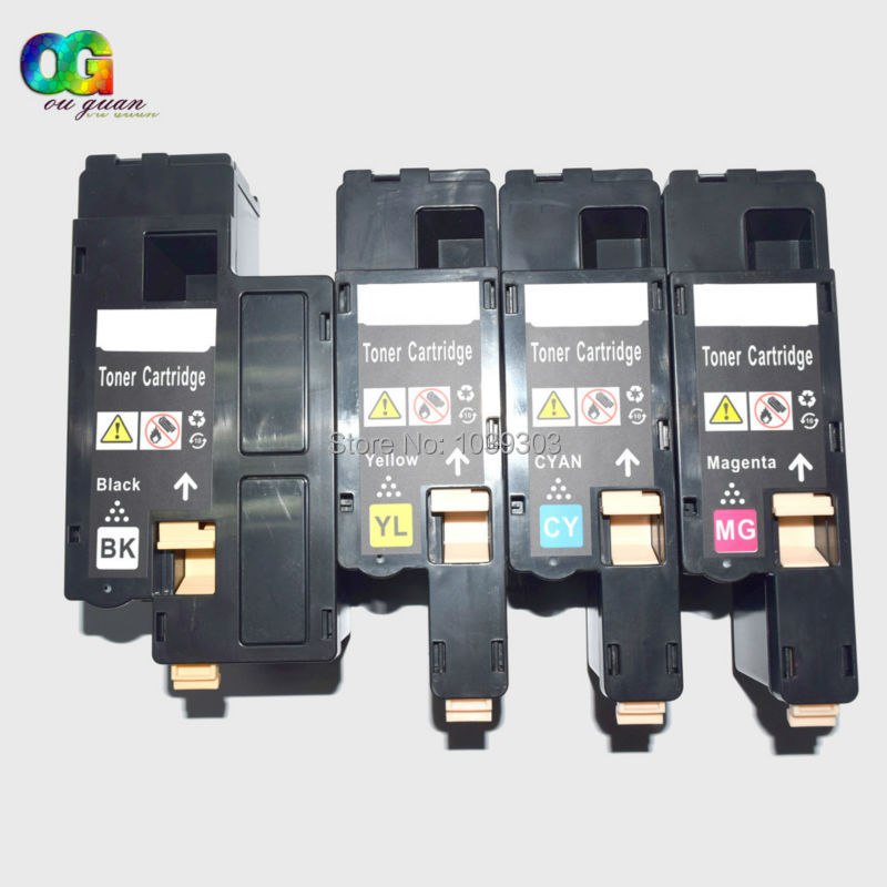 4 Toner Cartridges Compatible For Xerox Phaser 6000 6010 6010N Workcenter 6015 6015N 6015NI