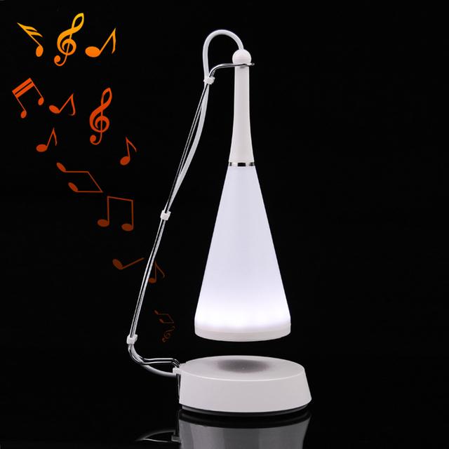 Lámpara de la noche del Altavoz Bluetooth Lámpara LED Creativo Personalizado Regalo de Navidad de Cumpleaños Para la Novia Hombres de Música USB Wireless Sensor Táctil