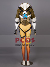 High Quality~ O v e r w a t c h Tracer Lena Oxton Outfits Cosplay Costume & Goggles mp003360(China)