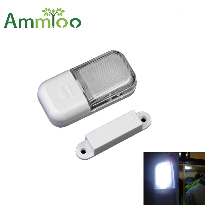 Mini Under Cabinet Light Sensor Led Closet Wall Lamp Magnetic Energy Saving Led Light For kitchen Wardrobe Emergency Lighting