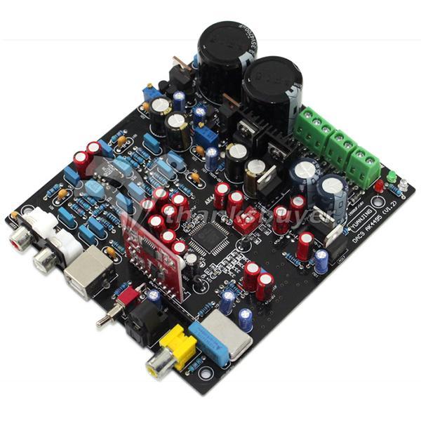 AK4495SEQ+WM8805 DAC Optical Fiber Coaxis USB Decode Board
