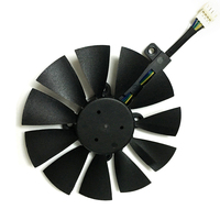 Computer Video Card Cooling Fan GPU VGA Cooler As Replacement For ASUS R9 FURY 4G 4096