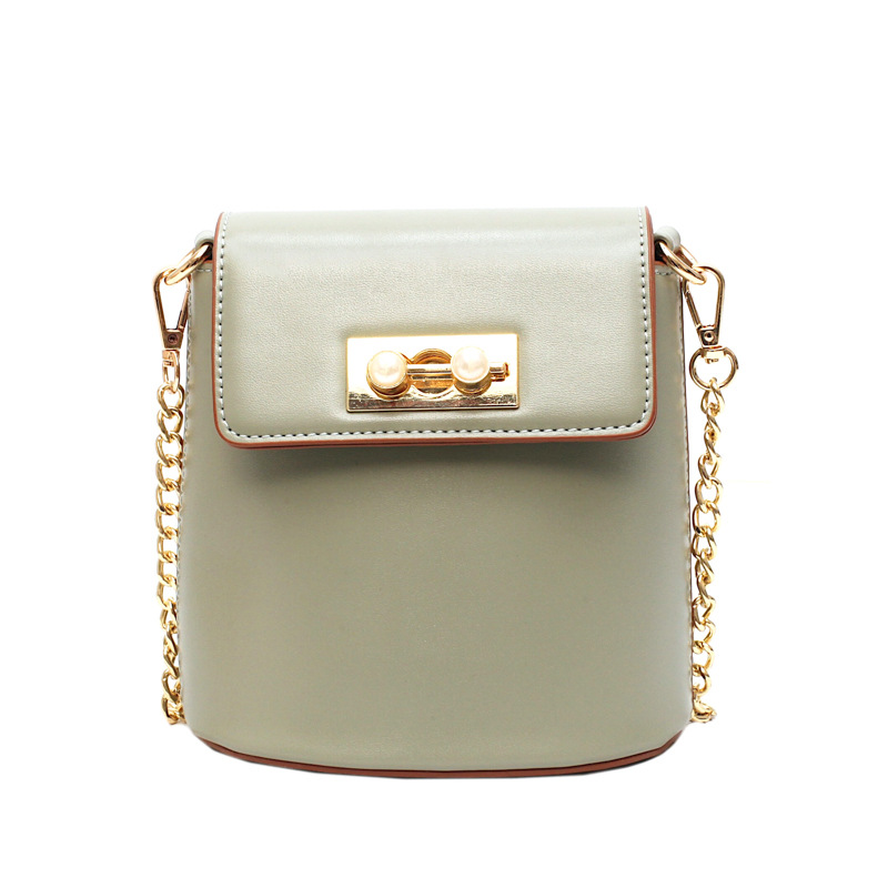 Designer Fashion bucket Women Shoulder Bag crossbody bags for women 2019 Female luxury PU Leather Ladies summer High Quality in Shoulder Bags from Luggage Bags
