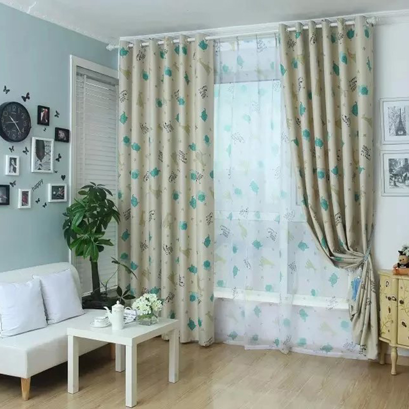 Popular kids curtain fabric buy cheap kids curtain fabric for Kids drapery fabric
